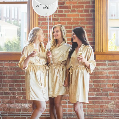 Personalized Luxury Satin Robes