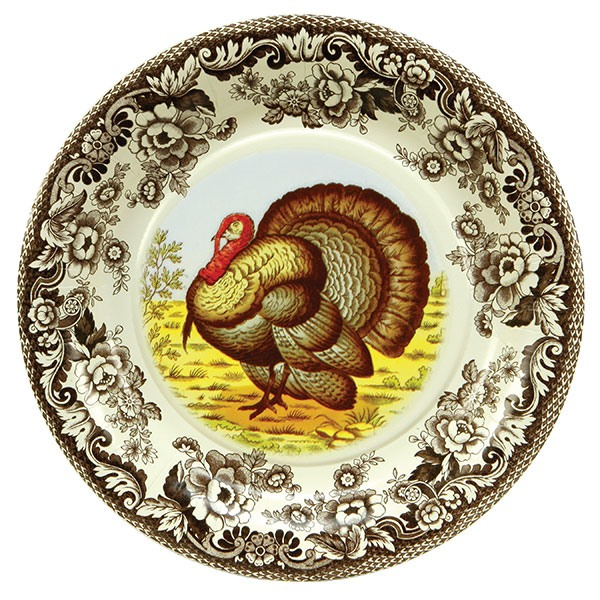 Woodland Turkey Dinner Plates