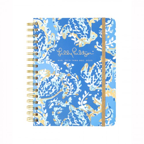 Lilly Pulitzer Turtley Awesome 2019-2020 Large Agenda
