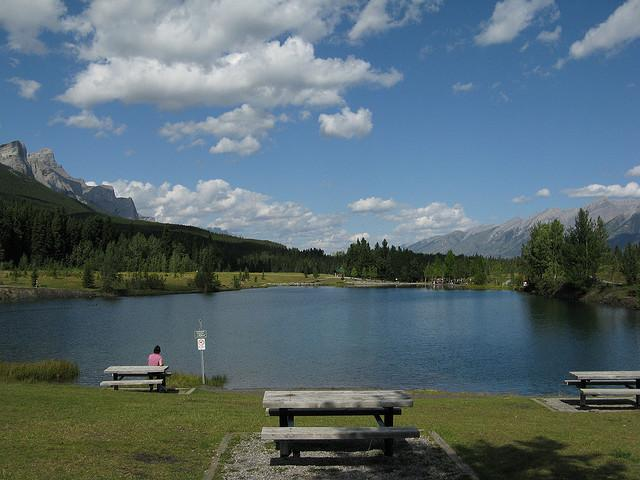 Quarry Lake Recreation Area Near Canmore Waterkeeper