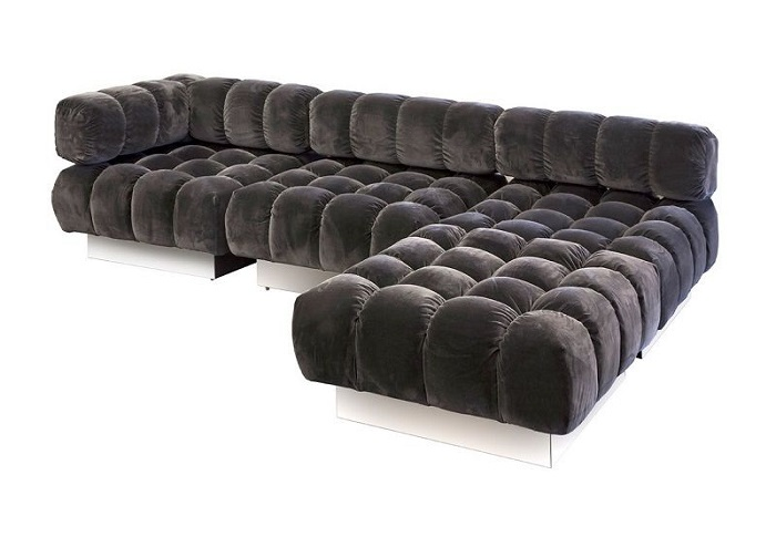 Harvey Probber Deep Tuft Sectional