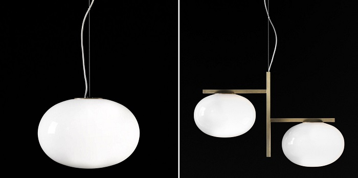 oluce alba suspension lights