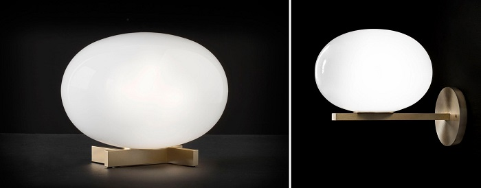 oluce alba wall light oluce alba table lamp