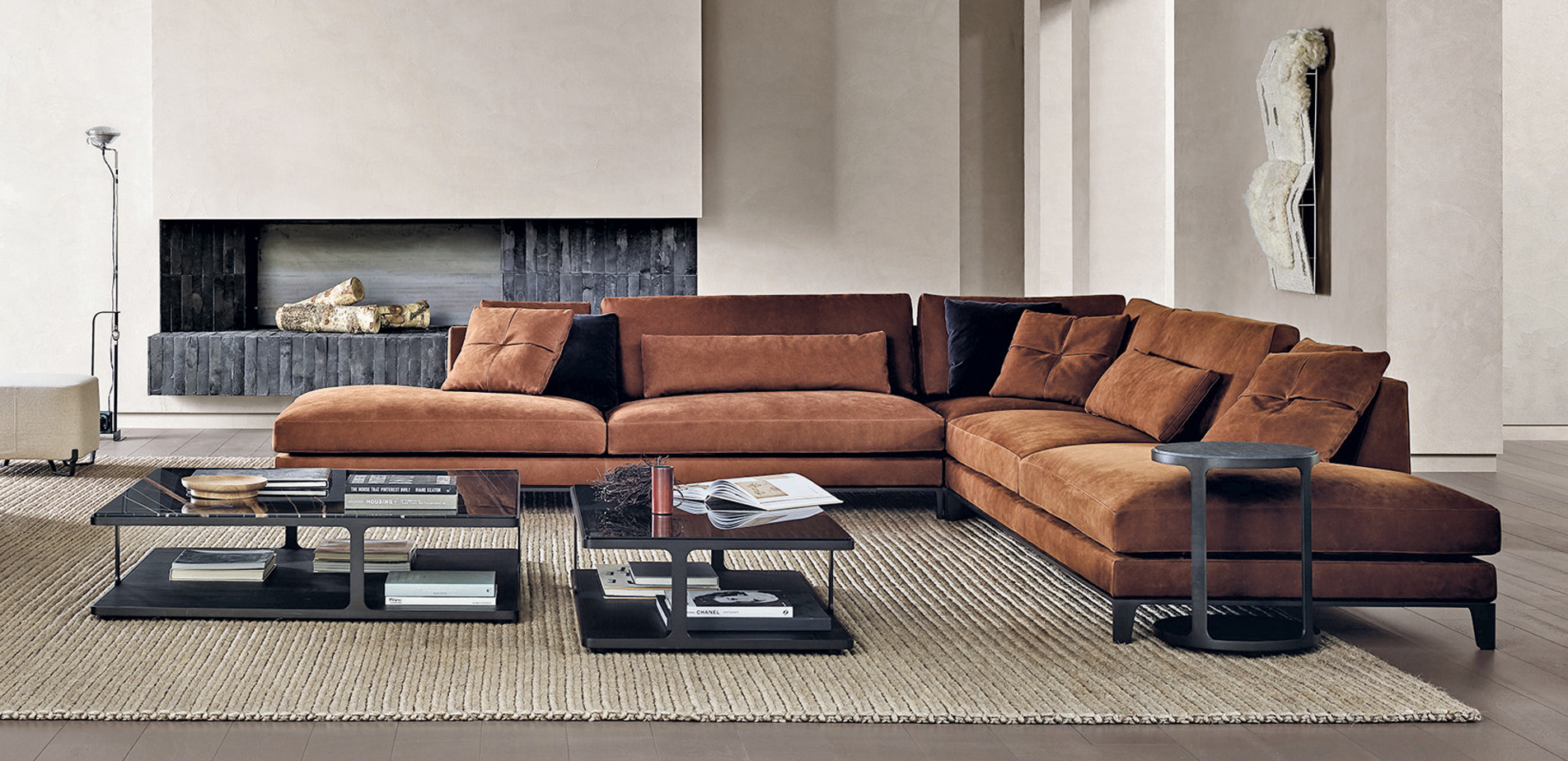 Poliform Bellport Sectional Sofa