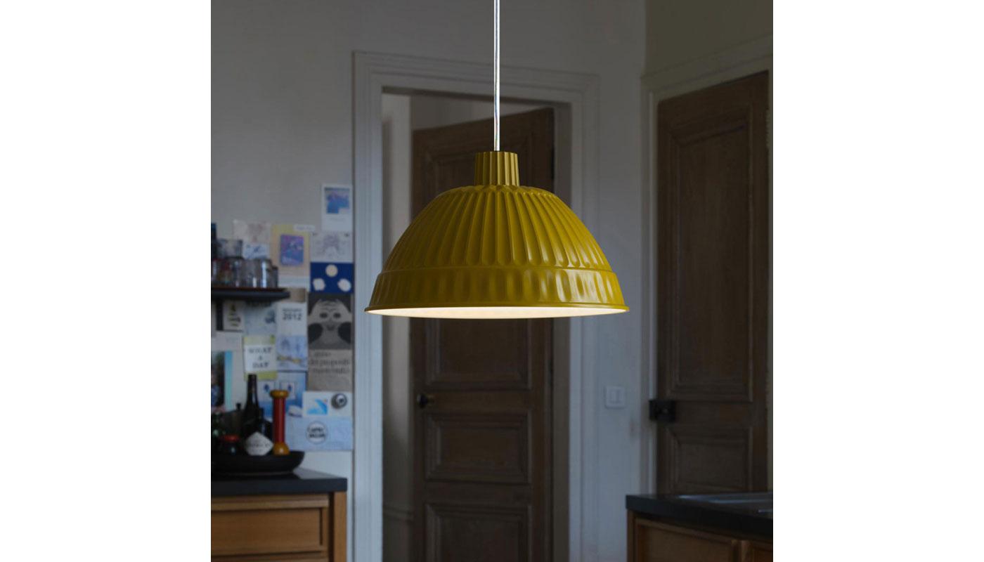 Cloche Suspension Light