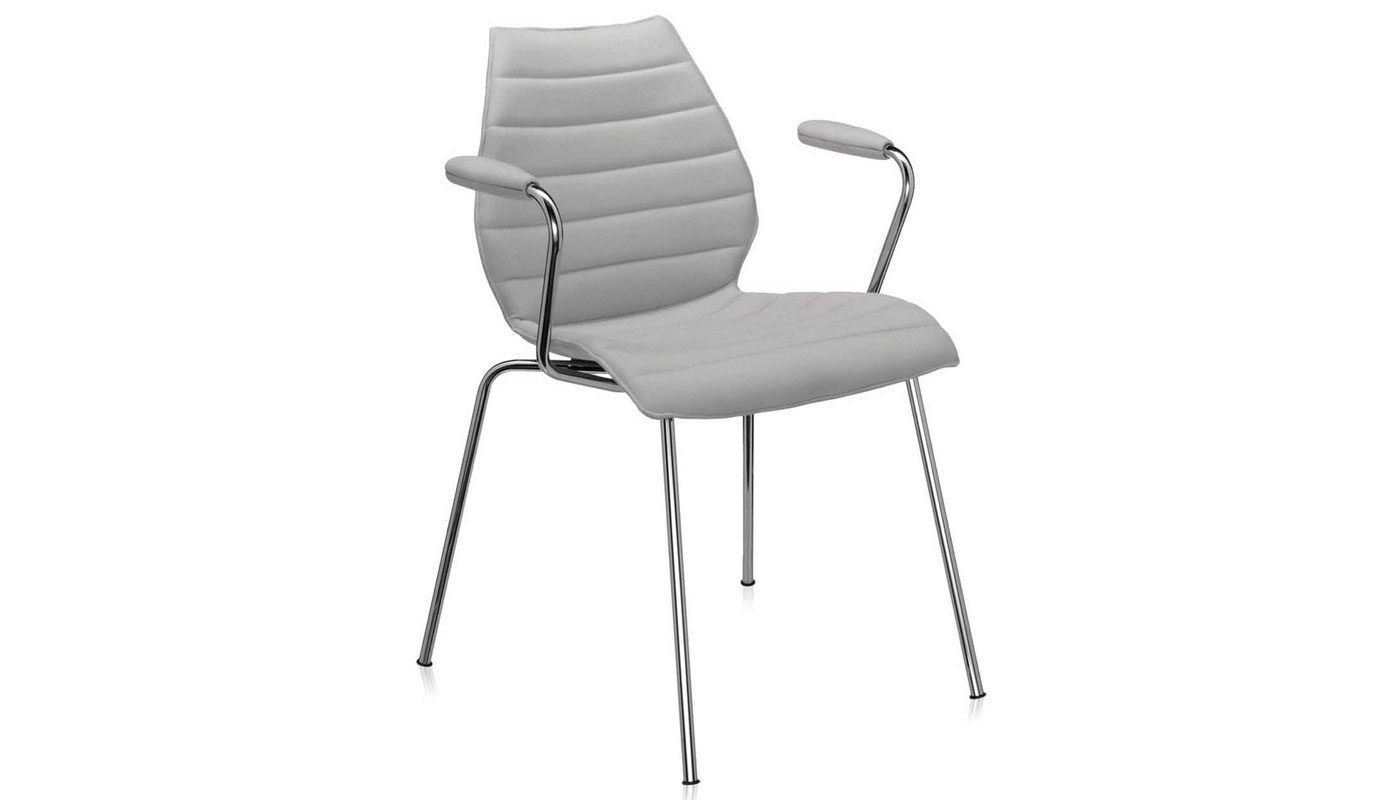 Maui Soft Dining Chair with Arms