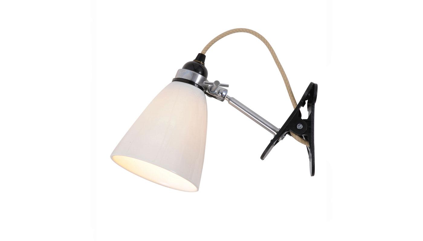 Hector Medium Dome Clip Light