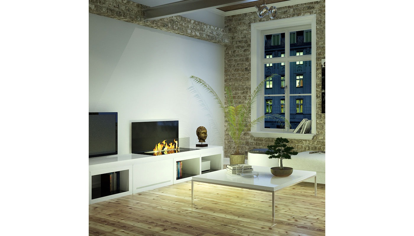 Loft Modular Intelligent Fireplace