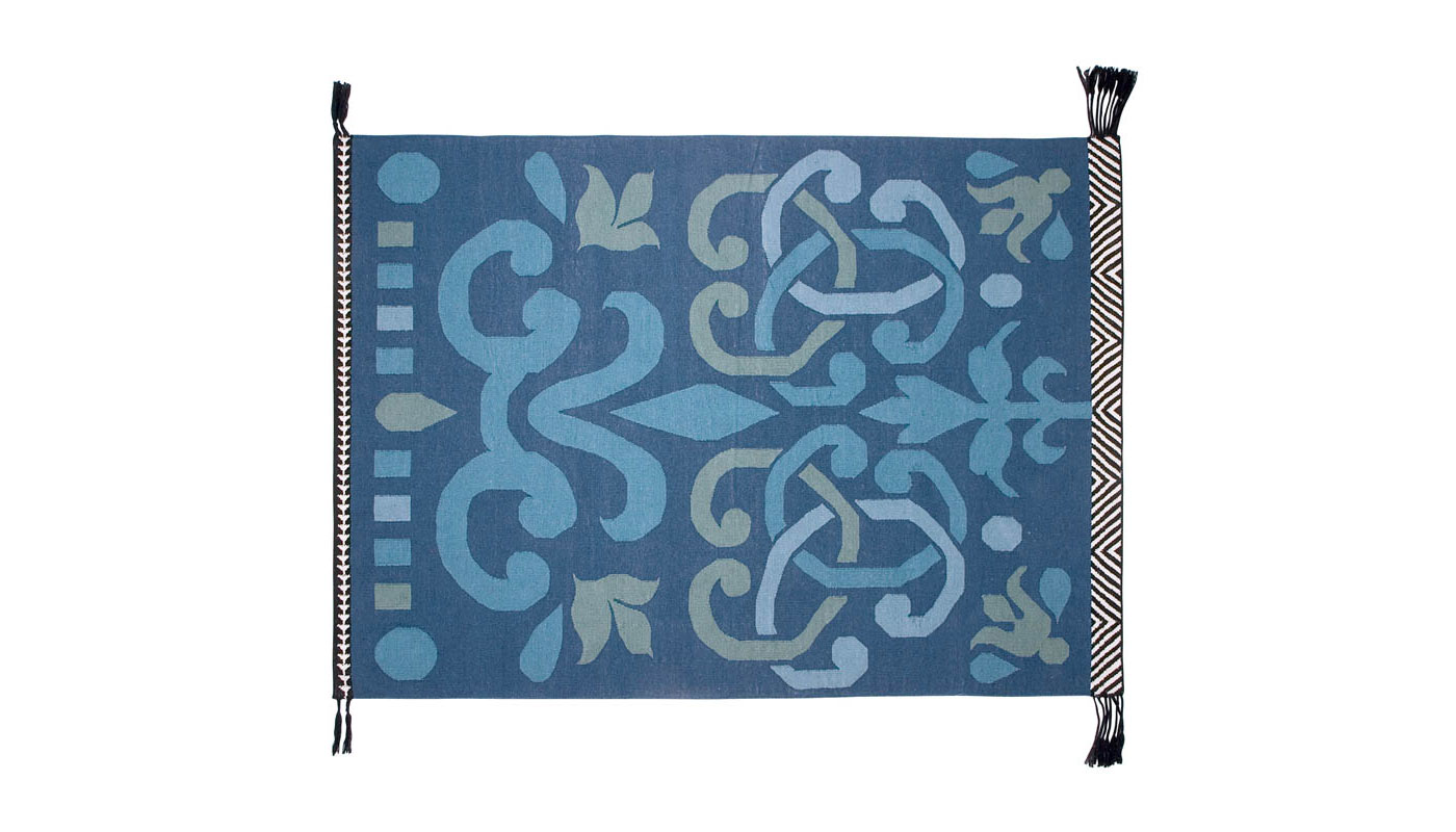 Arabesco Rug - Green