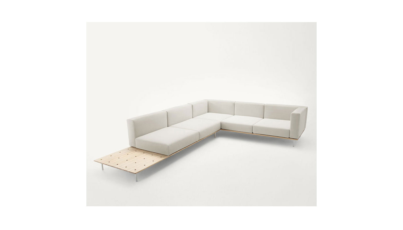 Prime Bench Sectional Sofa By Paola Lenti Switch Modern Gmtry Best Dining Table And Chair Ideas Images Gmtryco