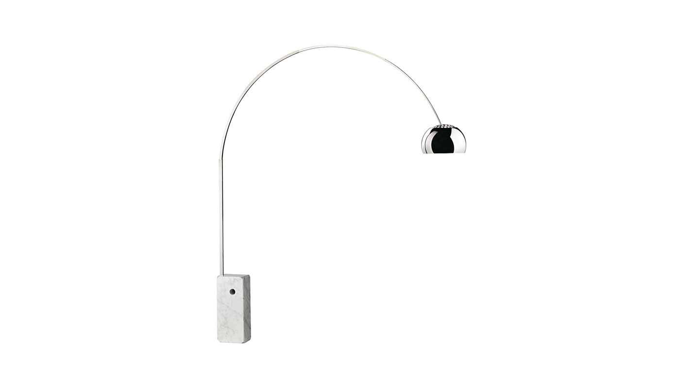 Arco Floor Lamp - Incandescent