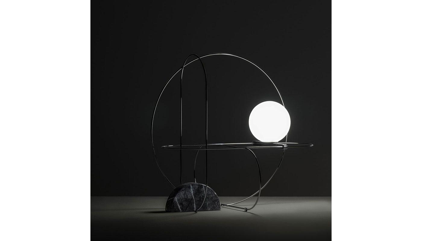Setareh Circular Table Lamp