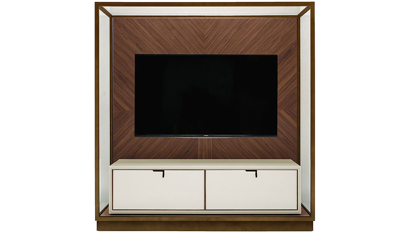 Merveilleux Town Cabinet With TV Mount