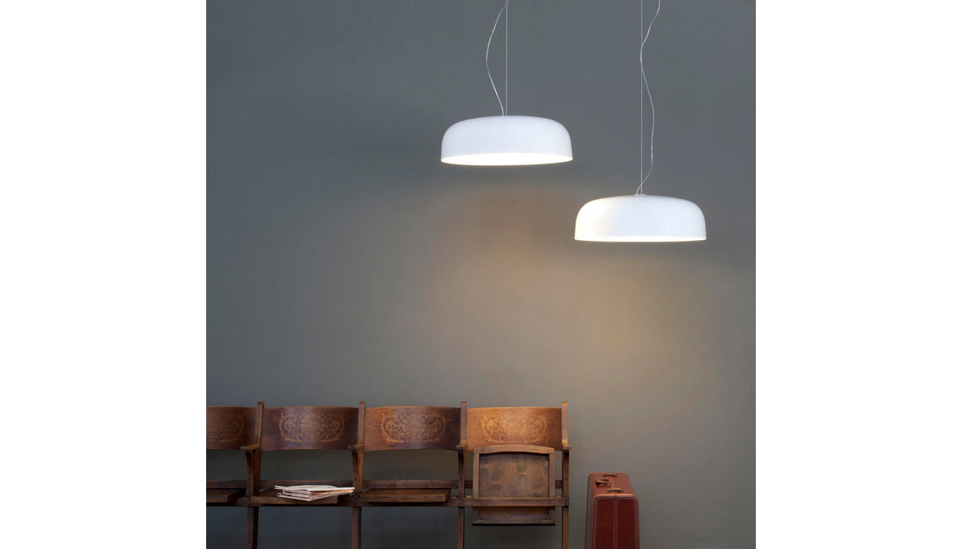 Canopy Suspension Light By Oluce Switch Modern