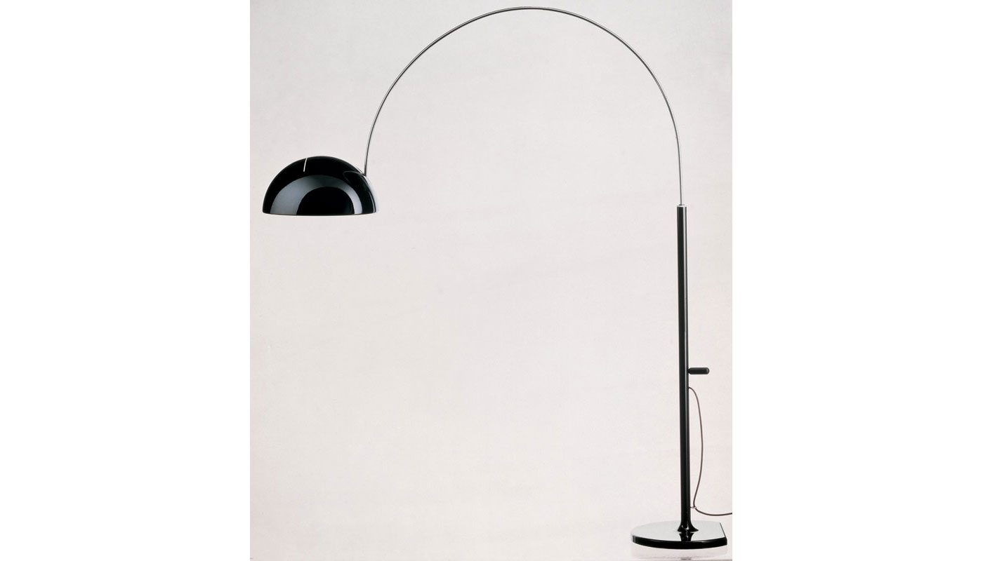 Coupe 3320 Floor Lamp By Oluce Switch Modern