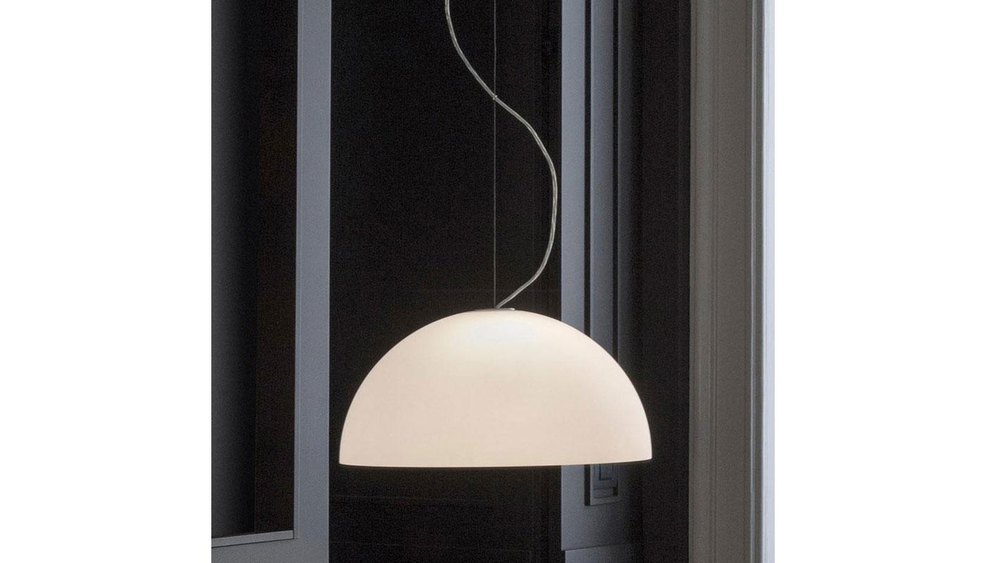 Sonora Suspension Light - Opal Glass