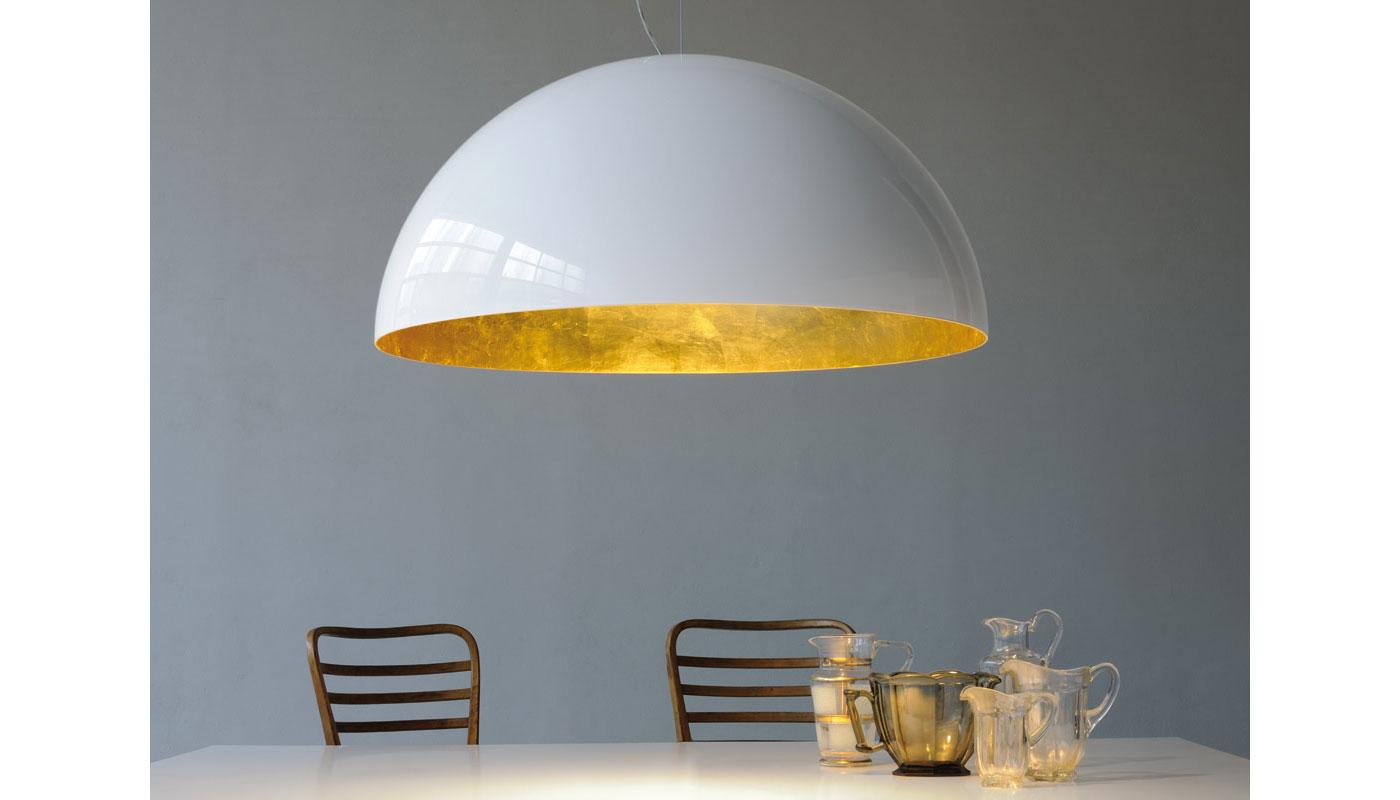Sonora Suspension Light - Gold Interior