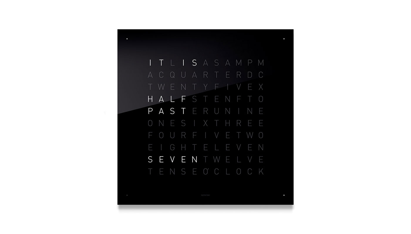 Classic Wall Clock - Black Iced Tea