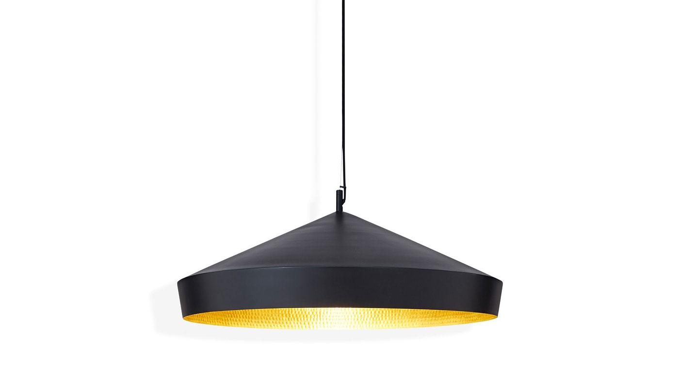 Beat Flat Suspension Light - Black