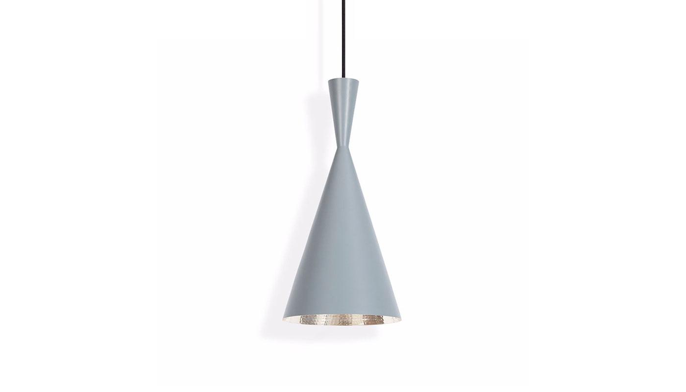 Beat Tall Suspension Light - Gray