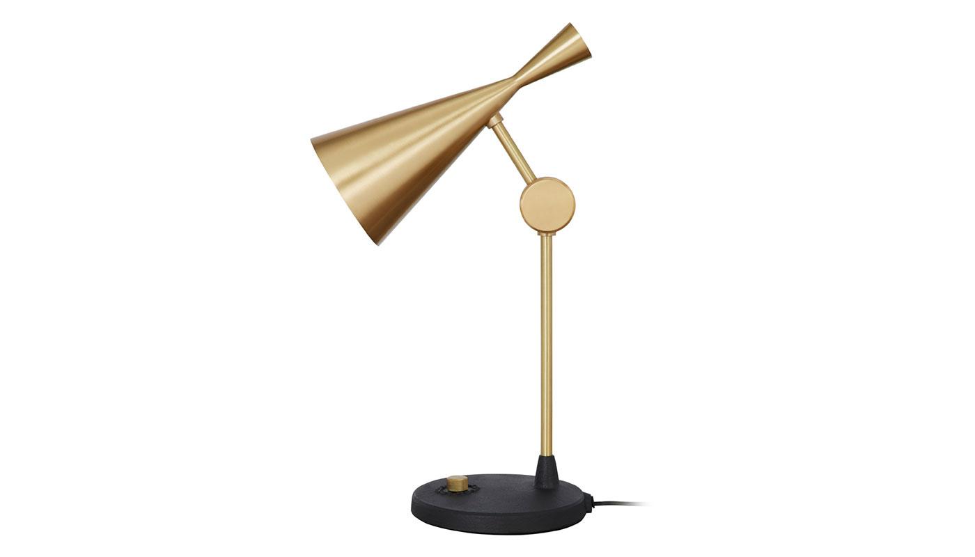 Beat Table Lamp - Brass