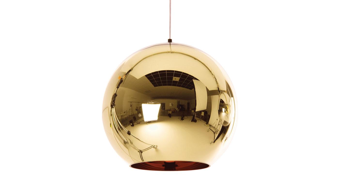 Copper Bronze Suspension Light