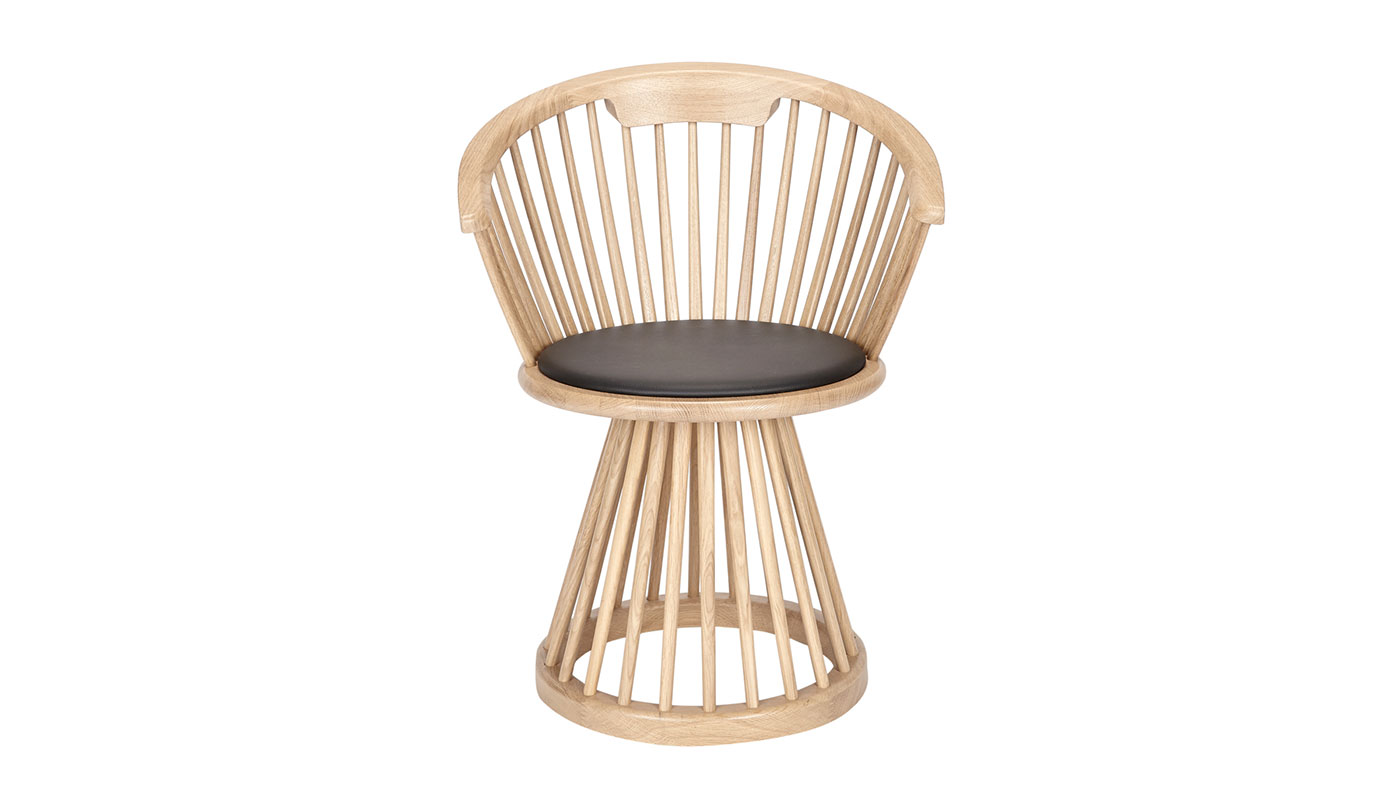 Incredible Fan Dining Chair Natural By Tom Dixon Switch Modern Gmtry Best Dining Table And Chair Ideas Images Gmtryco