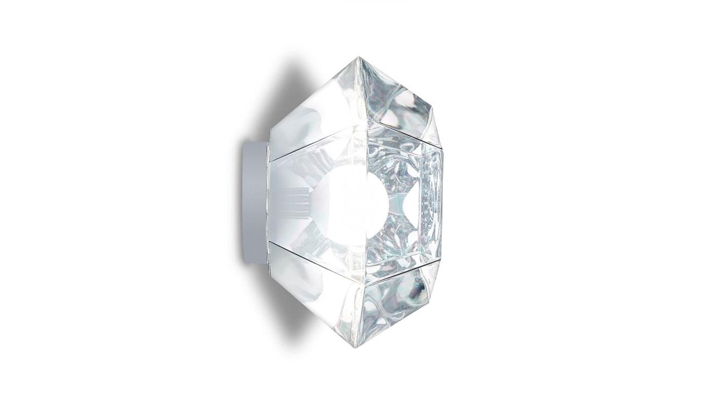 Cut Wall Light - Chrome
