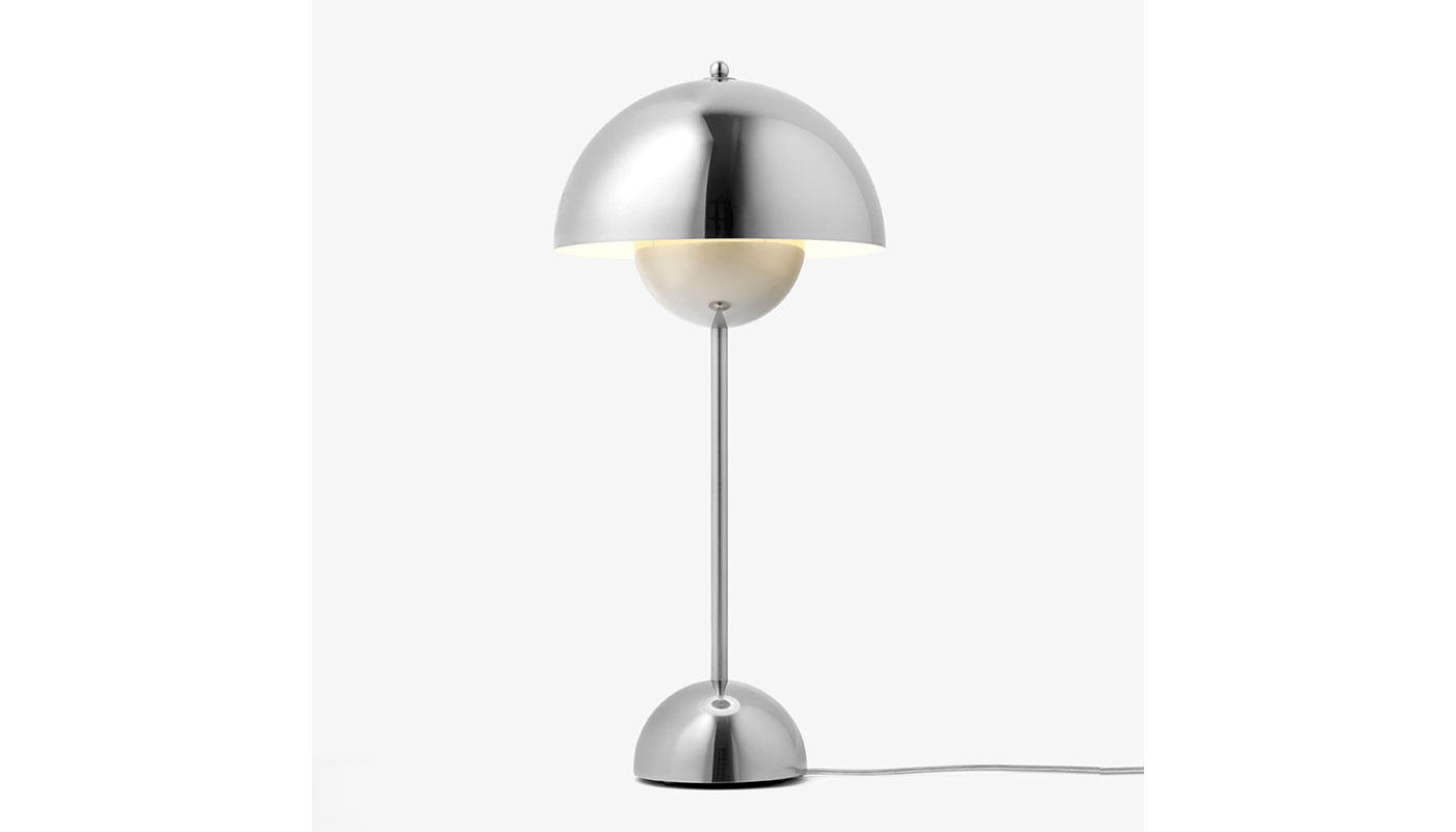 Flowerpot Table Lamp Metallic - VP3