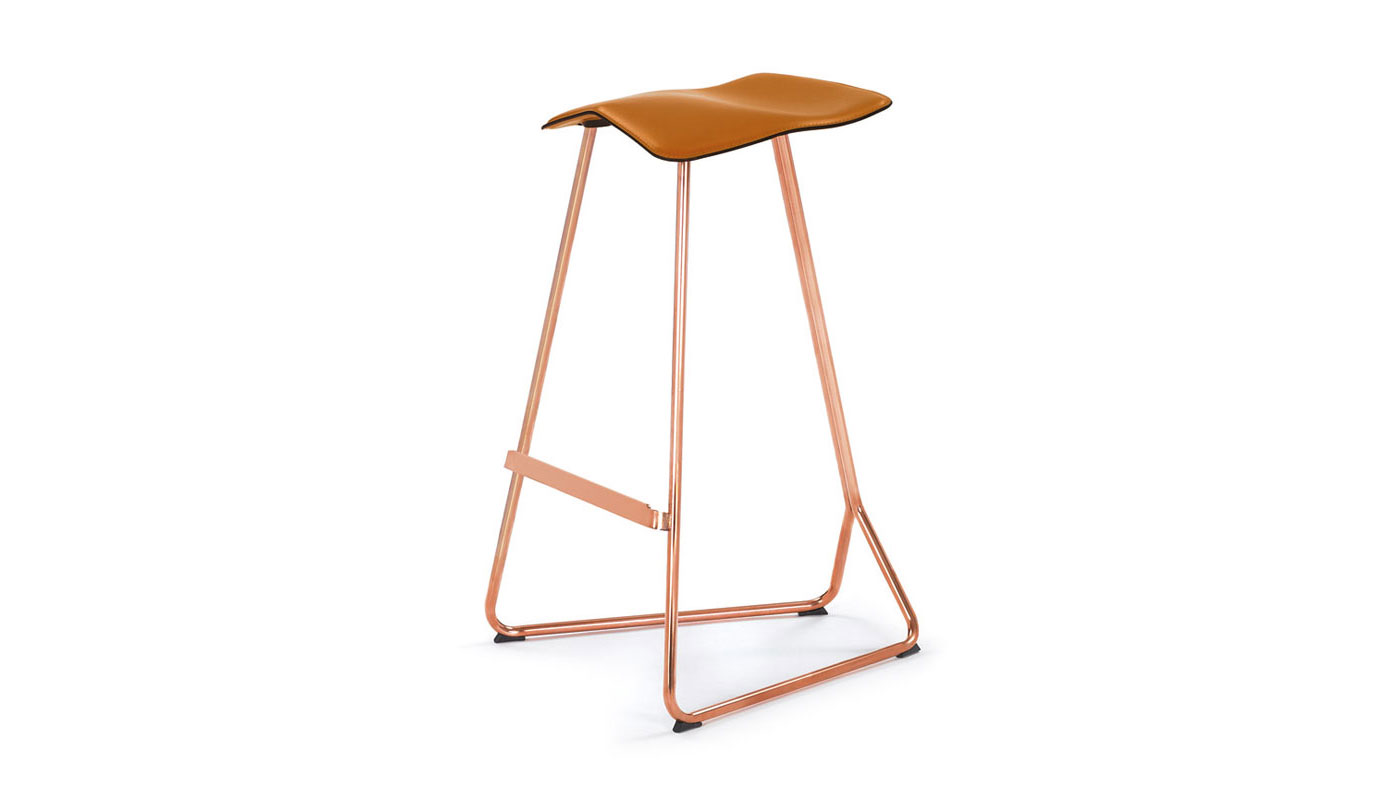 Triton Bar Stool - Copper