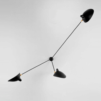 Serge Mouille 3 Arm Spider Sconce