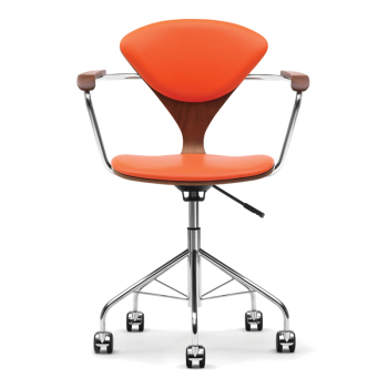 Task Chair with Arms - Uphol. Seat & Back