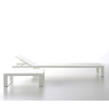 Flat Chaise Longue Side Table