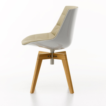 Flow Chair - 4-Legged Oak