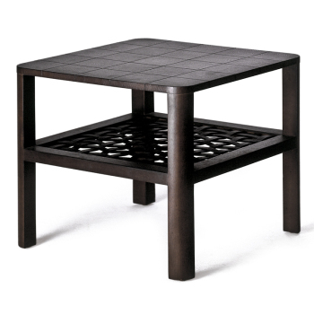 Matilda Leather End Table