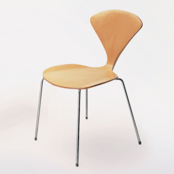 Metal Base Side Chair