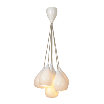 Drop One Pendant Light Grouping of Six