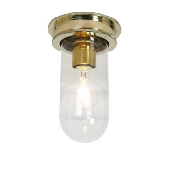 Weatherproof Ships Well Glass Ceiling Light