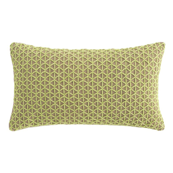Raw Rectangle Pillow - Lima