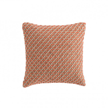 Raw Square Pillow - Pink
