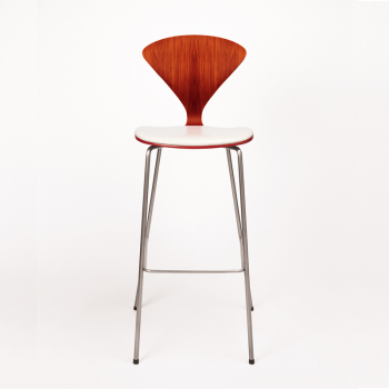 Metal Base Stool - Uphol. Seat