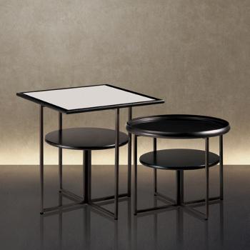 Tumbler Square End Table