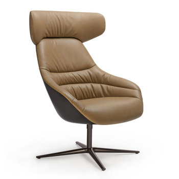 Kyo Lounge Chair with Headrest