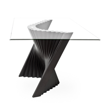 Wave End Table