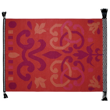 Arabesco Rug - Red