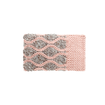 Mangas Rhombus Pink Cushion
