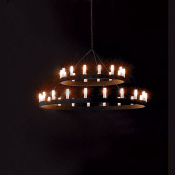 Chandelier Double Suspension Light