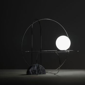 Setareh Circular Table Lamp