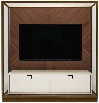 Town Cabinet with TV Mount