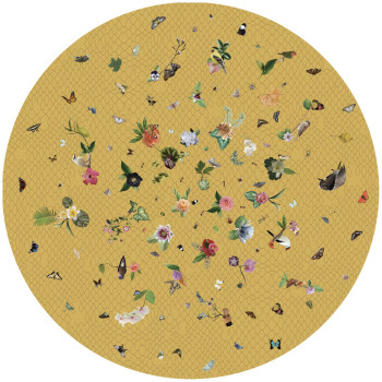 Garden of Eden Yellow Rug